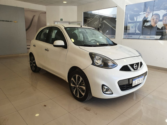 Nissan March Advance 2018 Blanco