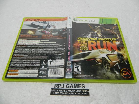 Need For Speed The Run Original Midia Fisica Caixa Xbox 360