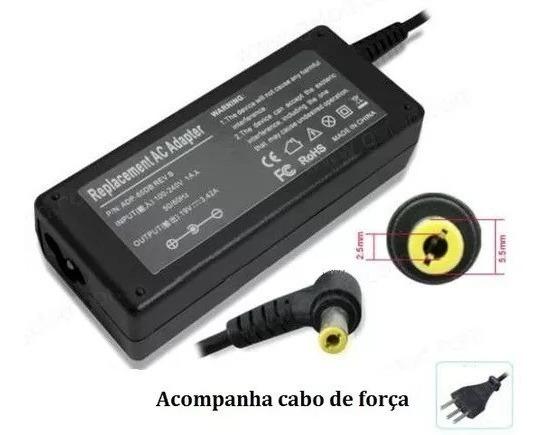 Fonte Carregador Notebook P/ Gateway Semp Toshiba Cce 19v