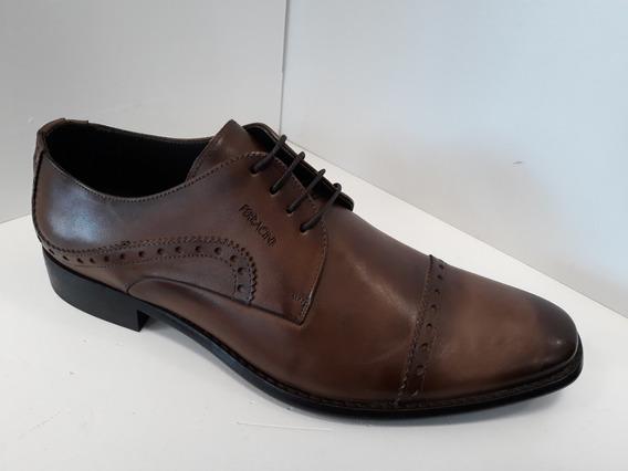Zapato Hombre Ferracini Classic Cuero Vacuno Cordon