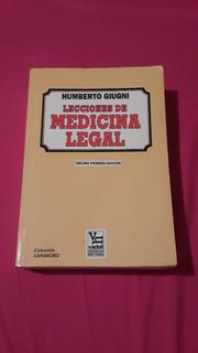 Libro Lecciones De Medicina Legal De Humberto Giugni