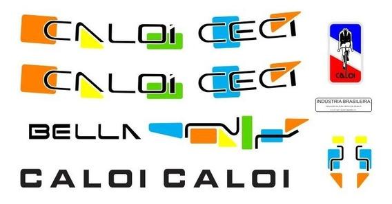 Adesivo Para Bicicleta Caloi Ceci Bella Todass