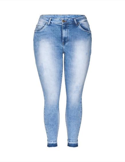 Kit 5 Calça Jeans Feminina Cintura Plus Size Atacado C Lycra