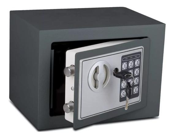 Caja Fuerte Seguridad Digital Resistente Llave + Teclado