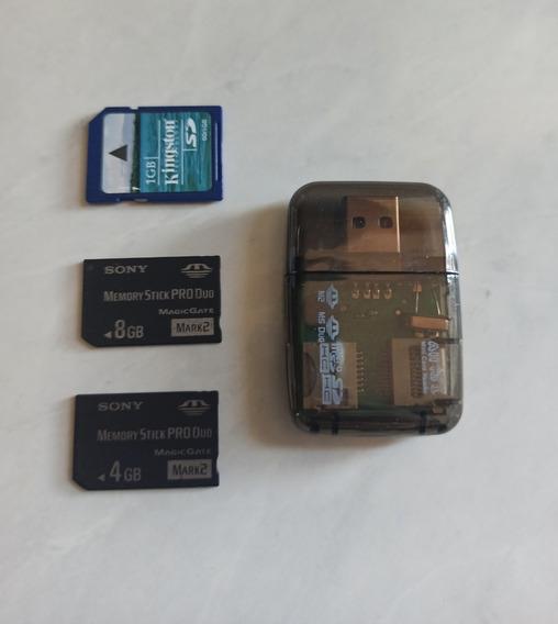Cartão Psp Pro Duo 4gb E 8gb Frete Grátis.
