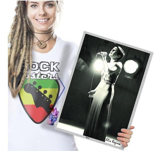 Elis Regina Poster Quadro Placa Cantora Brasileira Tam A3 17