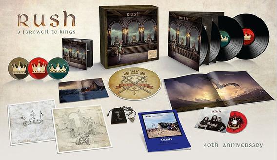 Rush - A Farewell To Kings Super Deluxe [lp/cd/bd] Pronta En