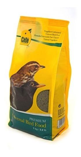 Cédé Ração Extrusada Universal Peletizada 1kg Cede Pássaros