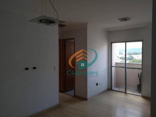 Apartamento Com 2 Dormitórios, 55 M² - Venda Por R$ 290.000,00 Ou Aluguel Por R$ 1.500,00/mês - Gopoúva - Guarulhos/sp - Ap3598