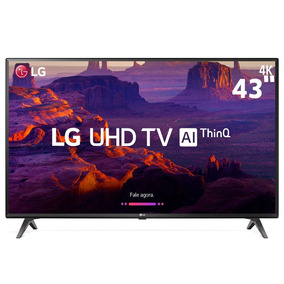 Smarttv 43 Ultra Hd 4k Lg 43uk6310pse Ips Inteligência Artif