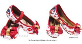 Sapatilha Festa Infantil Ladybug