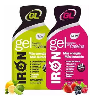 Gentech Gel Cafeina + Ginseng Sin Tacc 24 Sobres X Caja