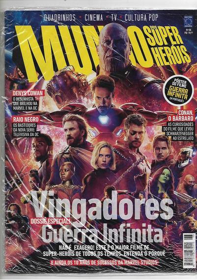 Revista Mundo Dos Super Heróis Número 98 Lacrada Vingadores