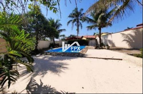 Casa Com Piscina Em Itanhaém, Lado Praia, Ca015-f