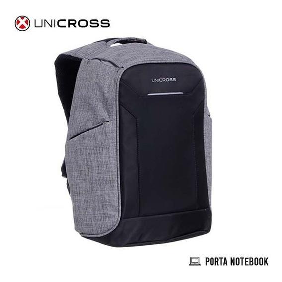 Mochila Espalda Unicross Antirrobo Portanotebook 17 PuLG
