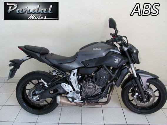 Yamaha Mt 07 Abs 2017 Cinza