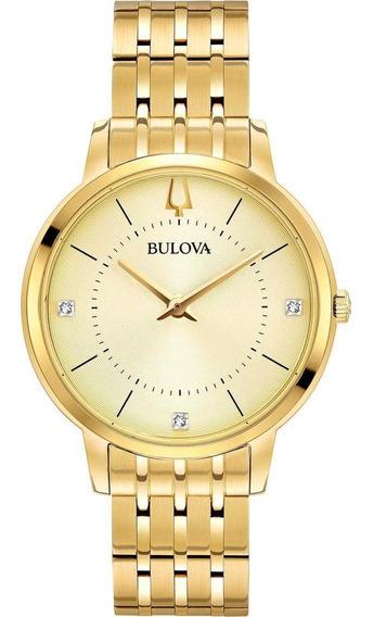 Relógio Bulova Ladies Gold 97p123