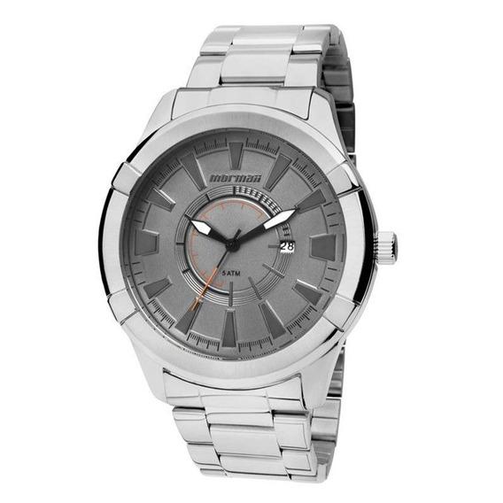 Relógio Mormaii Masculino Prata Mo2115ag/3c