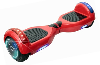 Hoverboard Skate Elétrico Smart Balance Leds Scooter Rosa