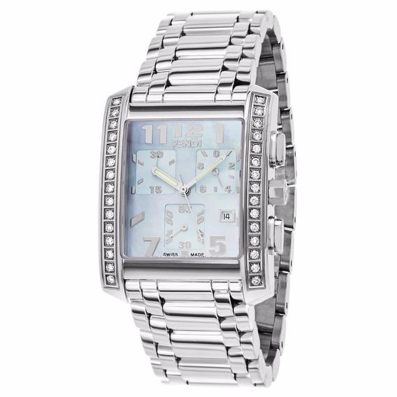 Reloj Fendi Classico Acero Inoxidable Plata Mujer F755130mdc