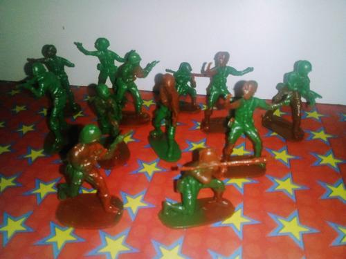 Soldaditos De Juguete X 12
