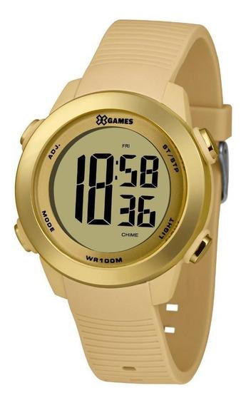 Relógio Feminino Dourado Digital X-games Prova D