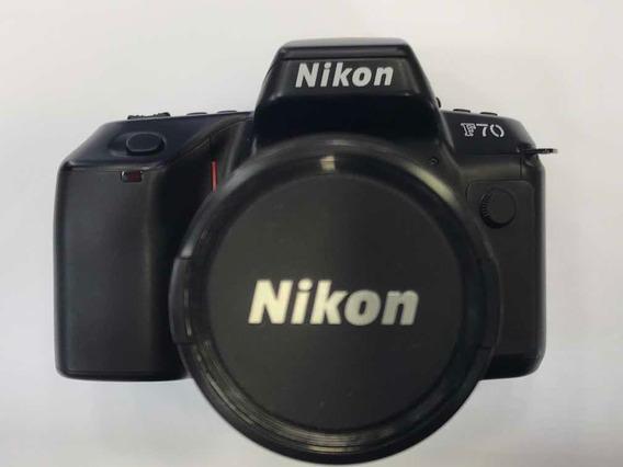 Cam. Nikon F70 Q.d. C/ Obj. 28-80mm (analógica Filme)