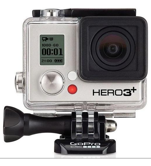 Filmadora Profissional Go Pro Hero 3+ Silver Usada Boa