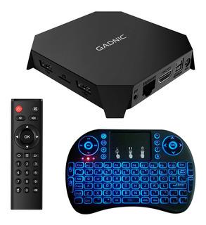 Tv Box 4k Gadnic Smart Tv Mini Pc Netflix Peliculas Usb Hdmi