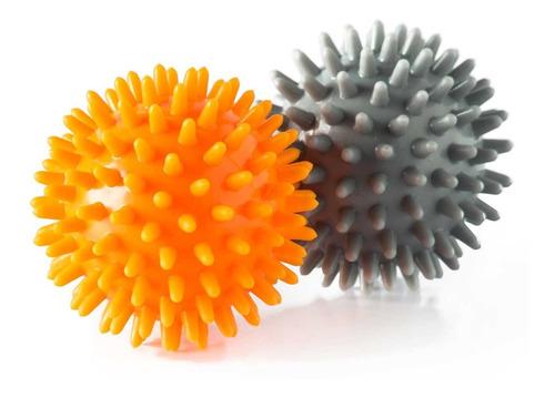 Kit 2 Bolas Massagem Relaxamento Estimula Circulação Vollo