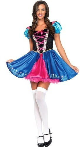 Disfraz Alpine Princess Vestido Princesa Latex Halloween