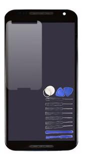 Display Frontal Lcd Moto X2 Preto + Ferramentas + Película