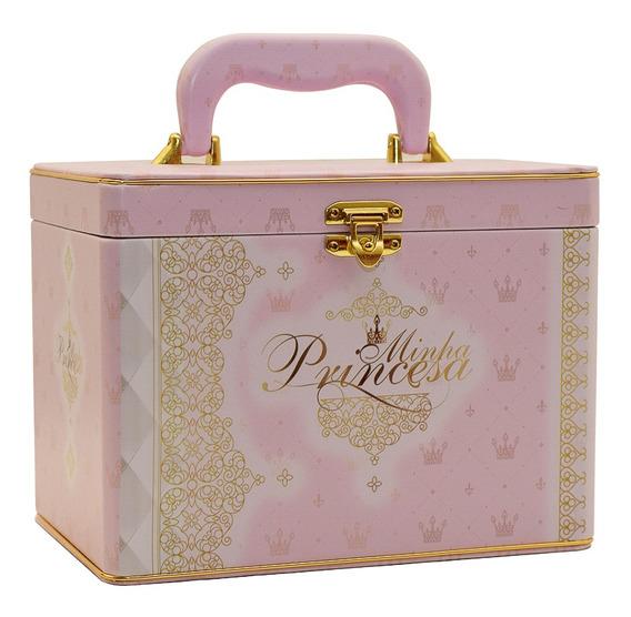 Álbum Fotográfico Maleta Minha Princesa P/240 Fotos 13x18