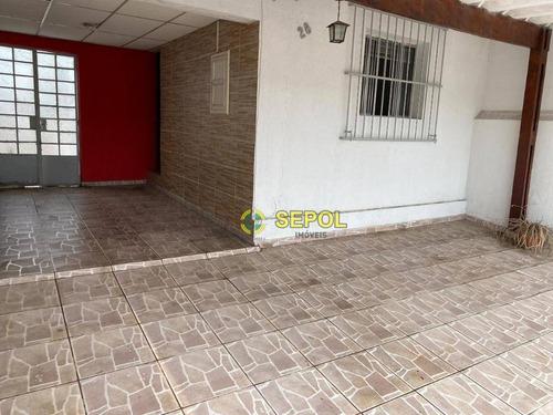 Casa Com 2 Dormitórios À Venda Por R$ 540.000,00 - Chácara Califórnia - São Paulo/sp - Ca0557