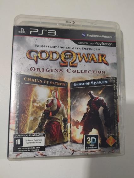 Jogo God Of War Origins Colection Para Ps3 Original.