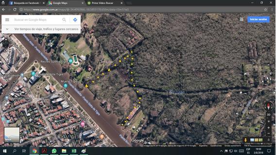 Lotes Terrenos 4 Hectareas Sobre Rio Lujan Frente Al Museo
