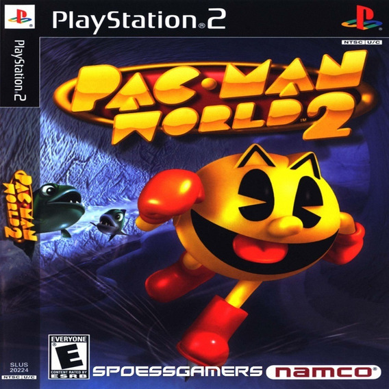 Pac Man World 2 Ps2 Desbloqueado Patch