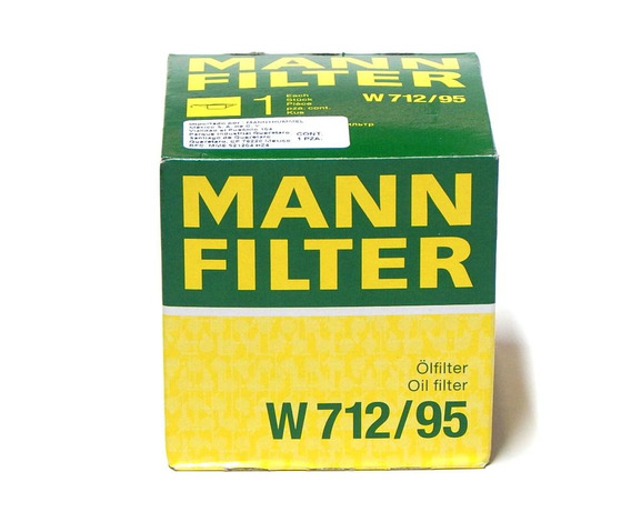 Filtro Aceite Leon 2016 1.4 Tsi Mann W712/95