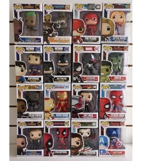 Muñecos Símil Funko Pop! Marvel Avengers Dc Justice League