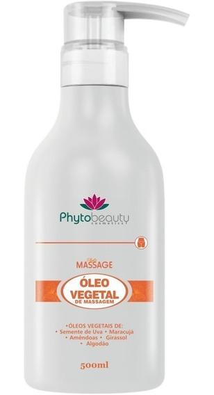 Óleo De Massagem Vegetal Phytobeauty (500ml) - Phyto Massage