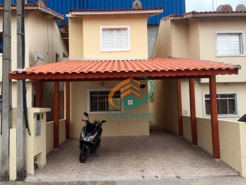 Imagem 1 de 26 de Sobrado Com 2 Dormitórios À Venda, 100 M² Por R$ 290.000,00 - Residencial Parque Cumbica - Guarulhos/sp - So0092
