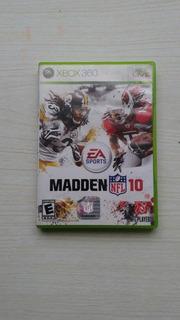 Madden 10 Xbox 360 Semi Nuevo