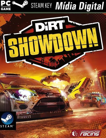 Pc - Dirt: Showdown - Steam Key - Mídia Digital Jogo Pra Pc