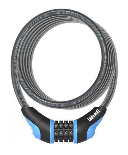 Imagem 1 de 1 de Cadeado Onguard Neon 8169 C/segredo Azul