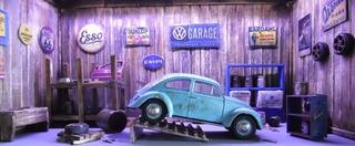 Diorama Garage Abandonada Volkswagen Fusca