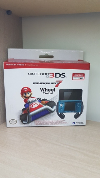 Volante Wheel Do Mario Kart 7 Para Nintendo 3ds - Novo