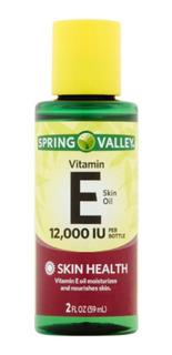 Vitamin E 12,000 Iu 59 Ml Oleo Para Pele Spring Valley