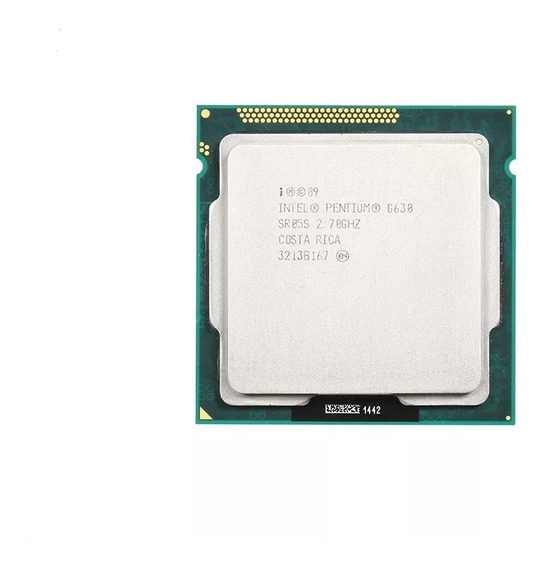 Pentium Intel Dual Core G630 Socket 1155 2.7ghz