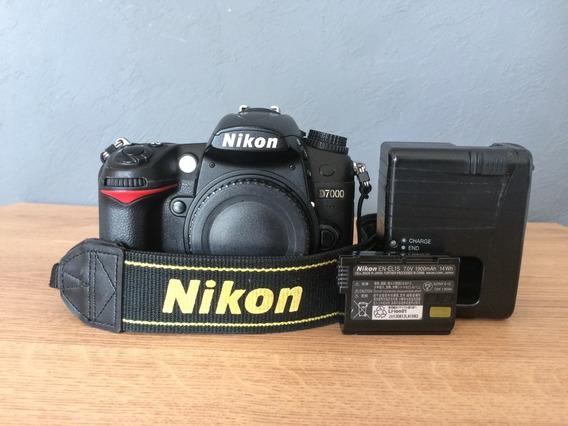 Camera Digital Dslr Nikon D7000 Completa
