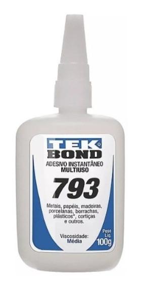 Cola Adesivo Instantâneo 793 100gr Tekbond